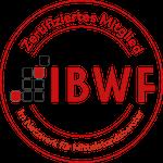 Siegel zertifiziertes Mitglied IBWF